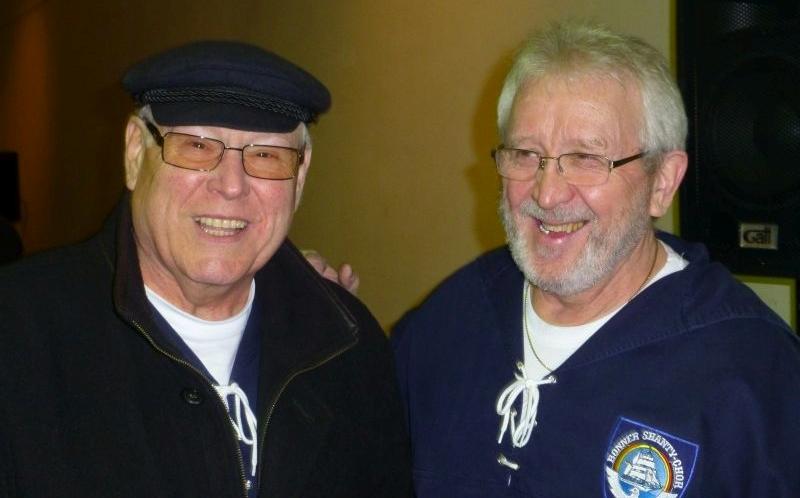 2013: Sänger Hermann Deipenau und Heinz Pinkernell (Foto: Imke Weiler)