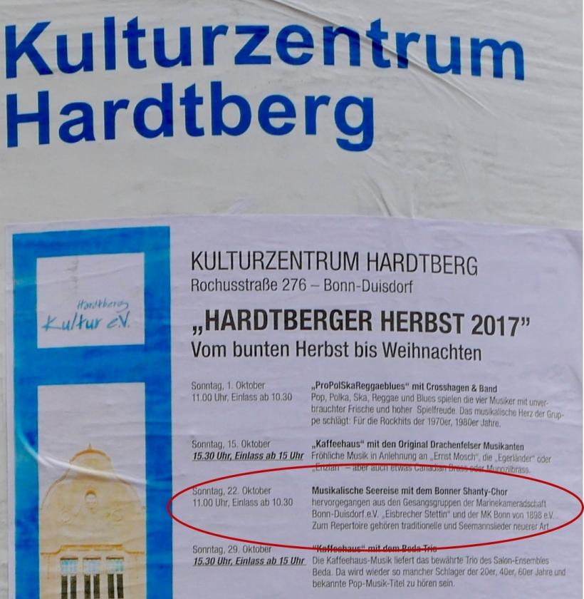 "2017: Plakat ""Hardtberger Herbst 2017"" (Foto: Manfred Weiler)"