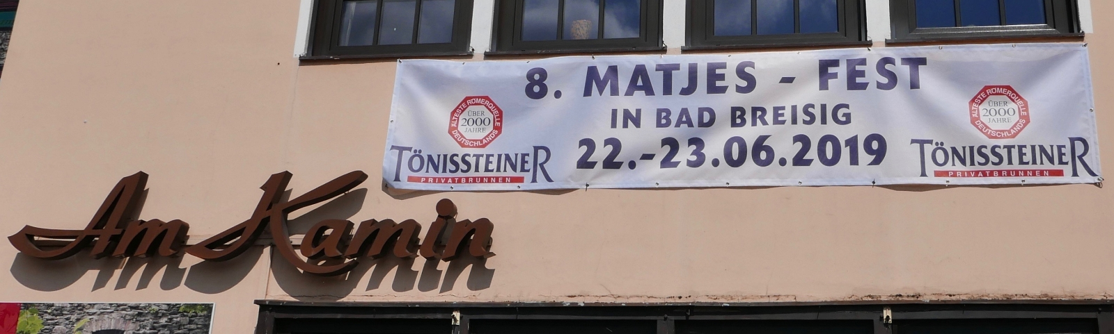 2019: Matjesfest in Bad Breisig (Foto: Manfred Weiler)