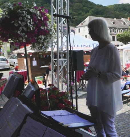 2019: Unsere Dirigentin Zita Munderloh (Foto: Manfred Weiler)