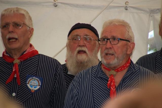 2017: Sänger Georg Wittig, Norbert Barwick, Heinz Pinkernell (Foto: Peter Müller)