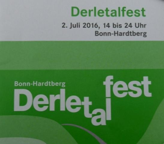 2016: Programmheft Derletalfest (Foto: Manfred Weiler)
