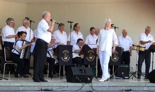 2019: BONNER SHANTY-CHOR beim Sommerfest der Bad Godesberger Vereine (Foro: Imke Weiler)
