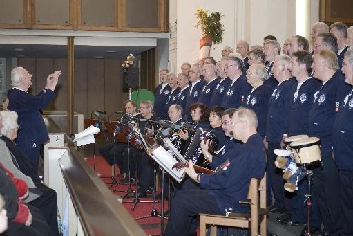 2006: BONNER SHANTY-CHOR in der Kreuzkirche (Foto: Gerhard Meyer)