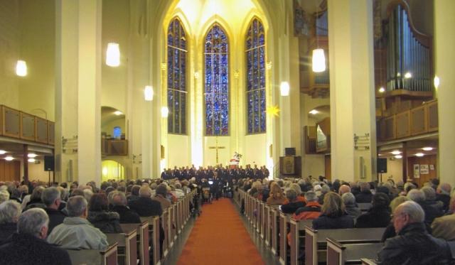 2011: BONNER SHANTY-CHOR in der Kreuzkirche (Foto: Gerhard Meyer)