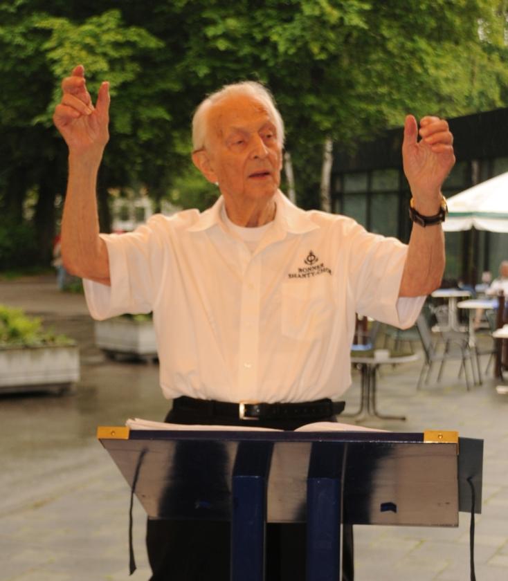 2013: Unser Dirigent: Heiko Fenn (Foto: Şahap)