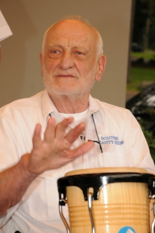 2013: An den Percussions: Peter Braun (Foto: Şahap)