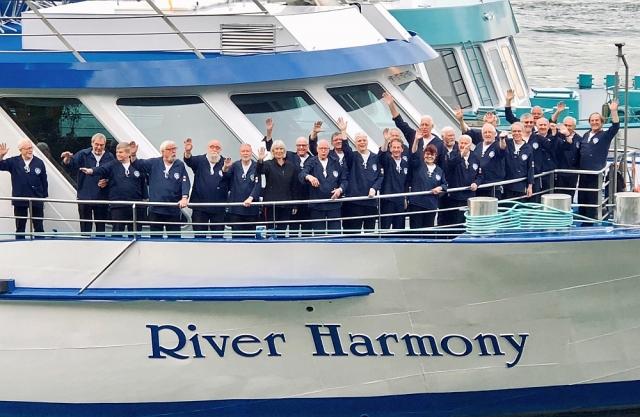 Mai 2019: BONNER SHANTY-CHOR auf der MS River Harmony (Foto: Imke Weiler)