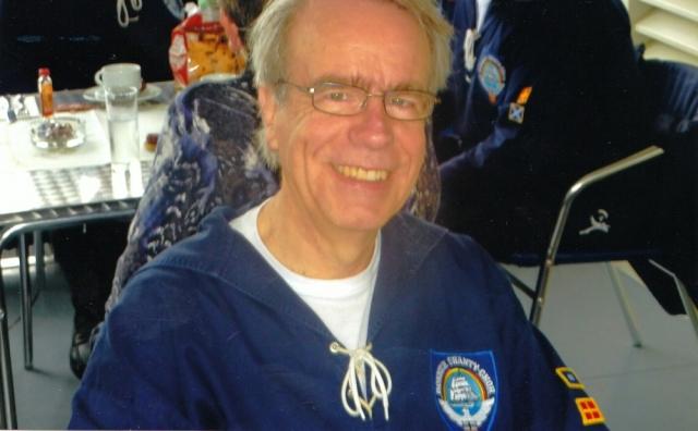 2012: Akkordeonist Peter Reichelt (Foto: Rainald Ennen)