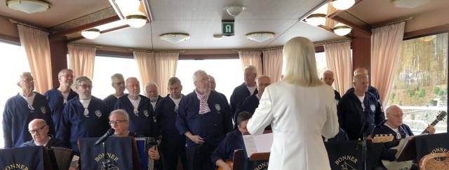 2019: BONNER SHANTY-CHOR auf der MS Poseidon (Foto: Imke Weiler)