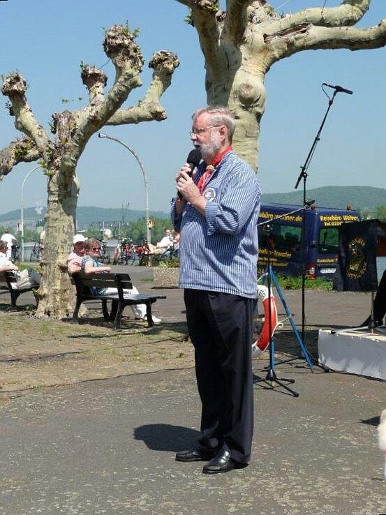 2010: Moderator Hans-Kurt Süßmilch (2010, Foto: Imke Weiler)