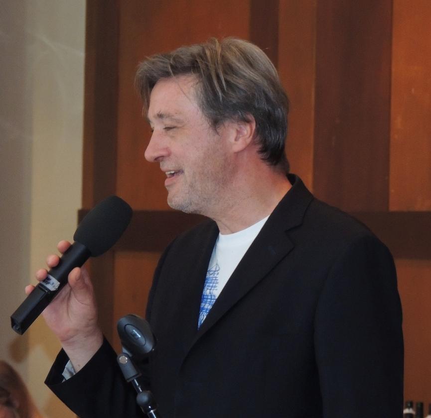 2013: Stephan Fleck, Dirigent des Passat-Chors (Foto: Achim Haupt)