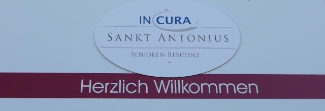 2015: Willkommensschild Sankt Antonius (Foto: Manfred Weiler)