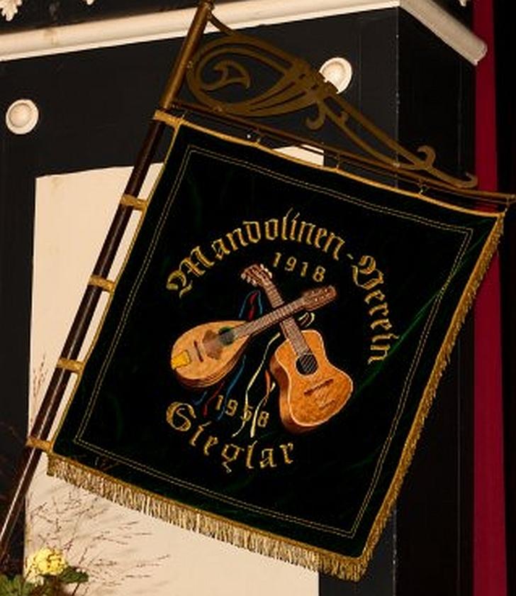2016: Standarte des Mandolinen-Vereins 1918 Sieglar (Foto: Mandolinen-Verein)