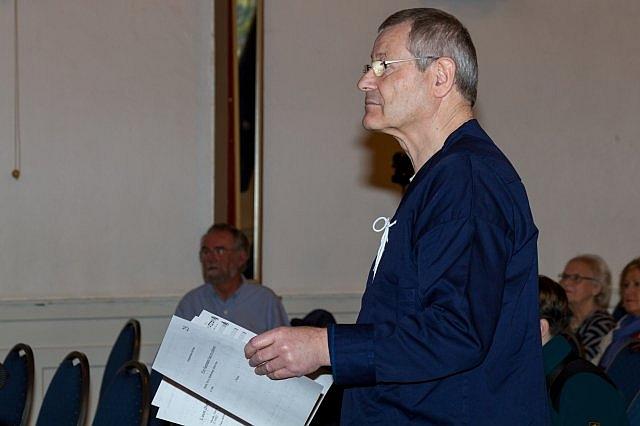 2016: Chor-Dirigent Martin Frey (Foto: Mandolinen-Verein)