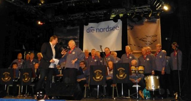 2013: Heiko Fenn im Gespräch mit NDR-Moderator Ludger Abeln (Foto: Imke Weiler)