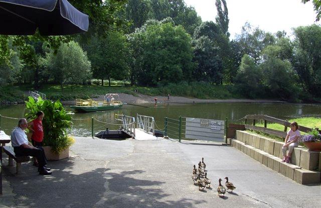 2008: Enten (vorne) und Siegfähre (hinten) (Foto: Imke Weiler)