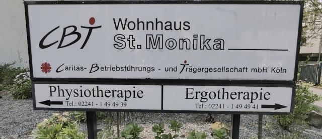 2018: CBT-Wohnhaus St. Monika (Foto: Manfred Weiler)
