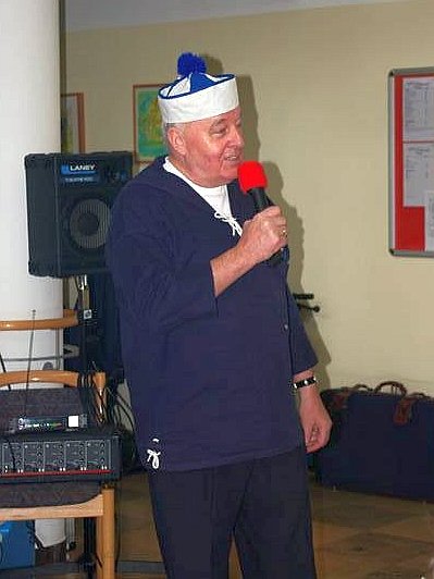 2008: Rudi Mölders, Solist im BONNER SHANTY-CHOR (Foto: privat)