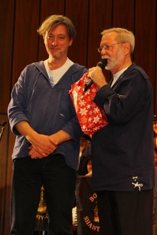 2012: Stephan Fleck (PASSAT CHOR) und Hans-Kurt Süßmilch (Foto: BSC)