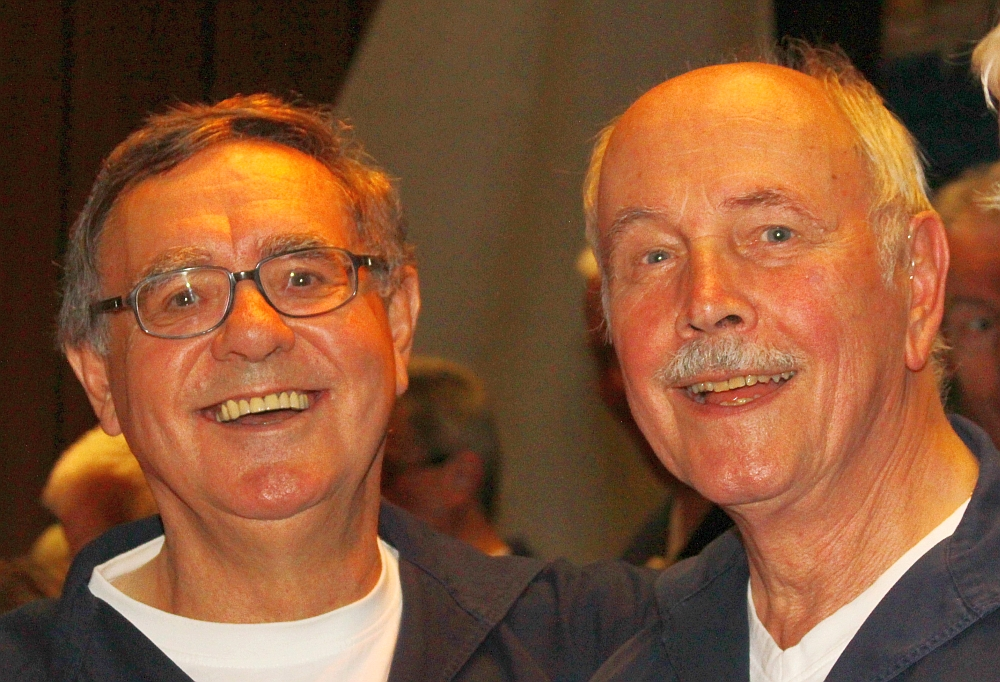 2012: Reinald Ennen und Dieter Schenk (Foto: BSC)