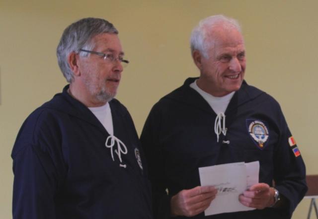 2012: Manfred Weiler und Klaus Oetjen (Foto: BSC)
