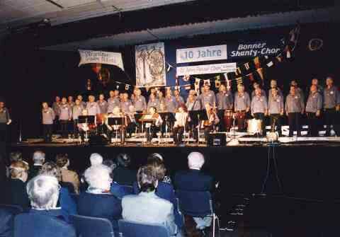 10 Jahre BONNER SHANTY-CHOR, Festkonzert im Beueler Brückenforum