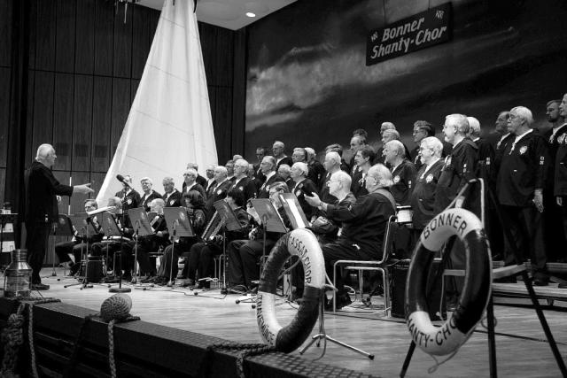 2007: BONNER SHANTY-CHOR in der Stadthalle Bad Godesberg (Foto: Barbara Frommann)