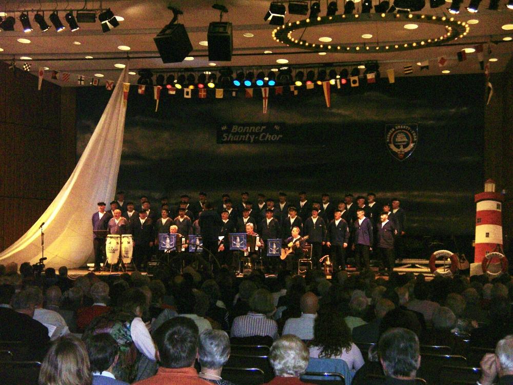 2007: Unser Gast: der PASSAT CHOR aus Travemünde (Foto: Imke Weiler)