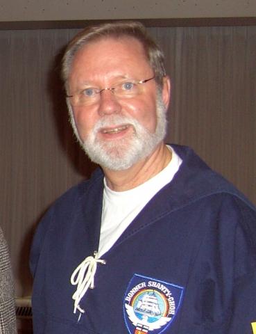 2007: Hans-Kurt Süßmilch, Geschäftsführer des BONNER SHANTY CHORES (Foto: Imke Weiler)