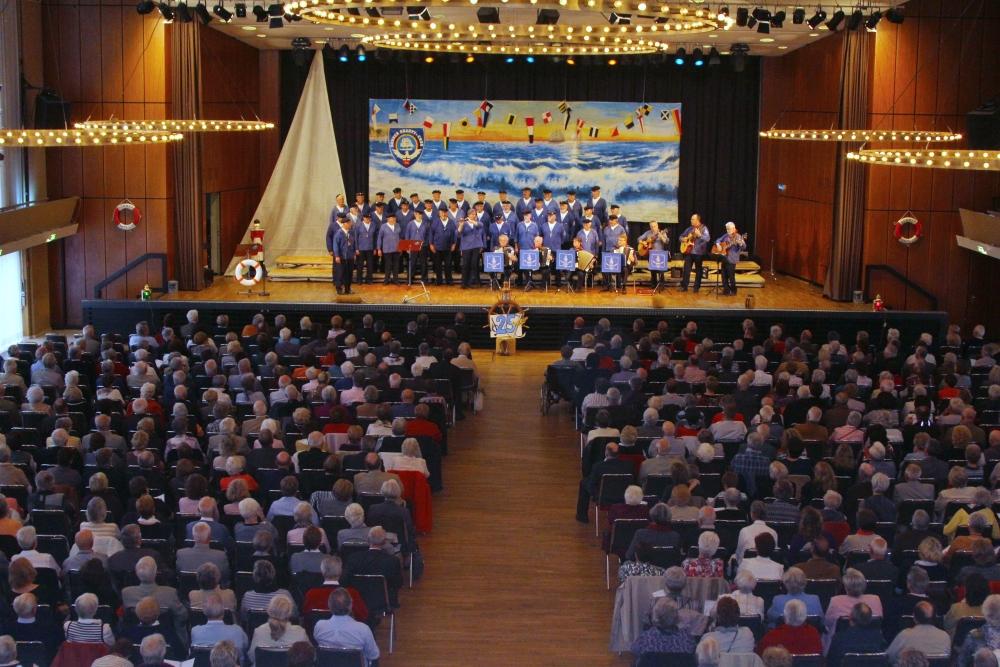 2012: Der PASSAT CHOR in der Stadthalle (Foto: BSC)
