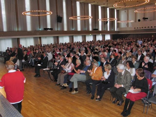 2012: Blick ins Publikum (Foto: Gerhard Meyer)