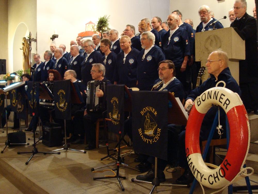2008: BONNER SHANTY-CHOR in St. Mariä Heimsuchung (Foto: Reinhard Schneider)