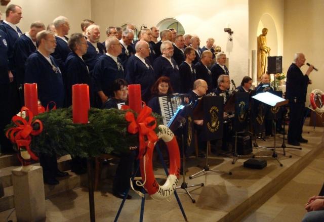 2008: BONNER SHANTY-CHOR in St. Mariä Heimsuchung (2008, Foto: Reinhard Schneider)