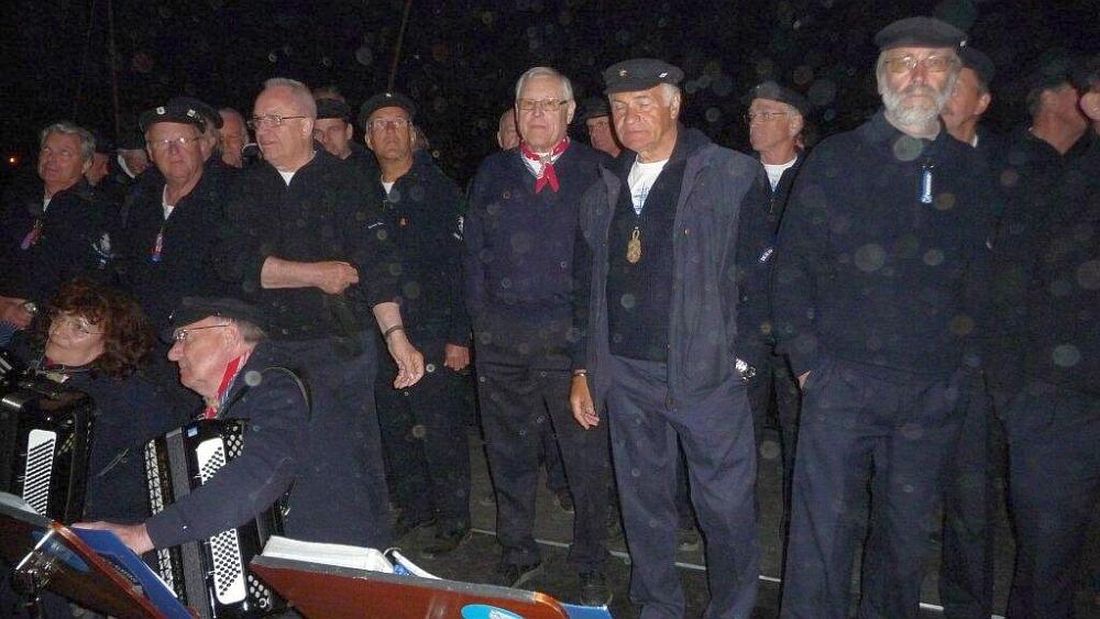2011: Chormusik zum Feuerwerk (Foto: Imke Weiler)