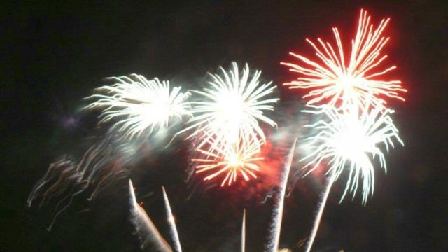2011: Feuerwerk (Foto: Imke Weiler)