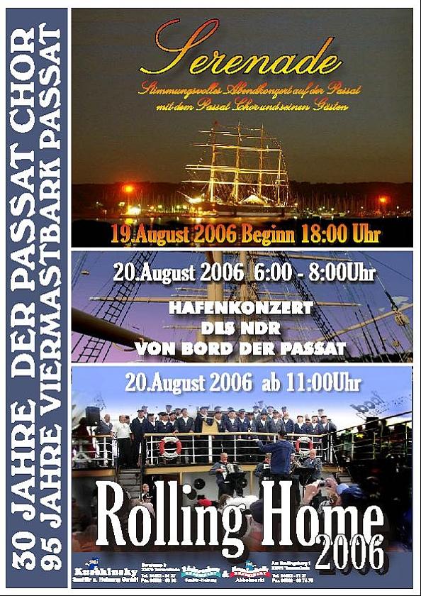 2006: Plakat zu den Veranstaltungen