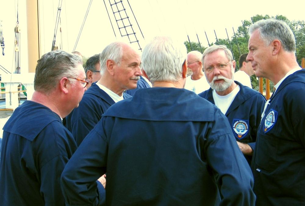 2006: An Bord der Passat (Foto: Klaus Rähse)