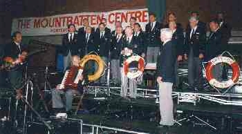 1988: BONNER SHANTY-CHOR im Mountbatton Centre, Portsmouth (Foto: privat)