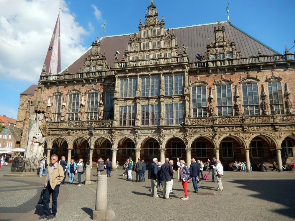 2018: Bremen, Rathaus (Foto: Wilfried Bennerscheidt)