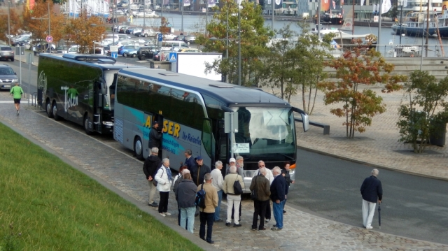 2018: Ankunft in Bremerhaven (Foto: Wilfried Bennerscheidt)