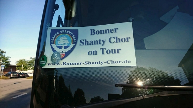 2018: BONNER SHANTY-CHOR on Tour (Foto: Frank Ponelies)