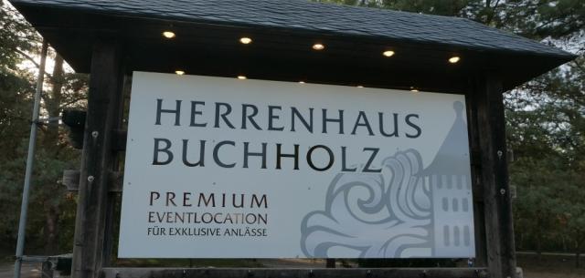 2018: Herrenhaus Buchholz, eine Eventlocation (Foto: Manfred Weiler)