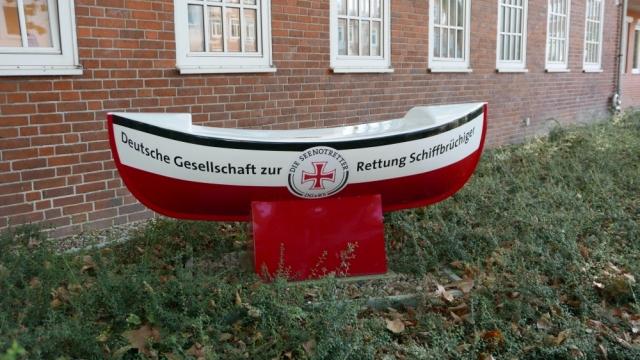 2018: Symbol der DGzRS: Das Sammelschiffchen (Foto: Manfred Weiler)