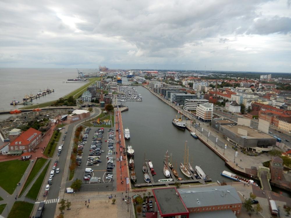 2018: Neuer Hafen von oben (Foto: Wilfried Bennerscheidt)
