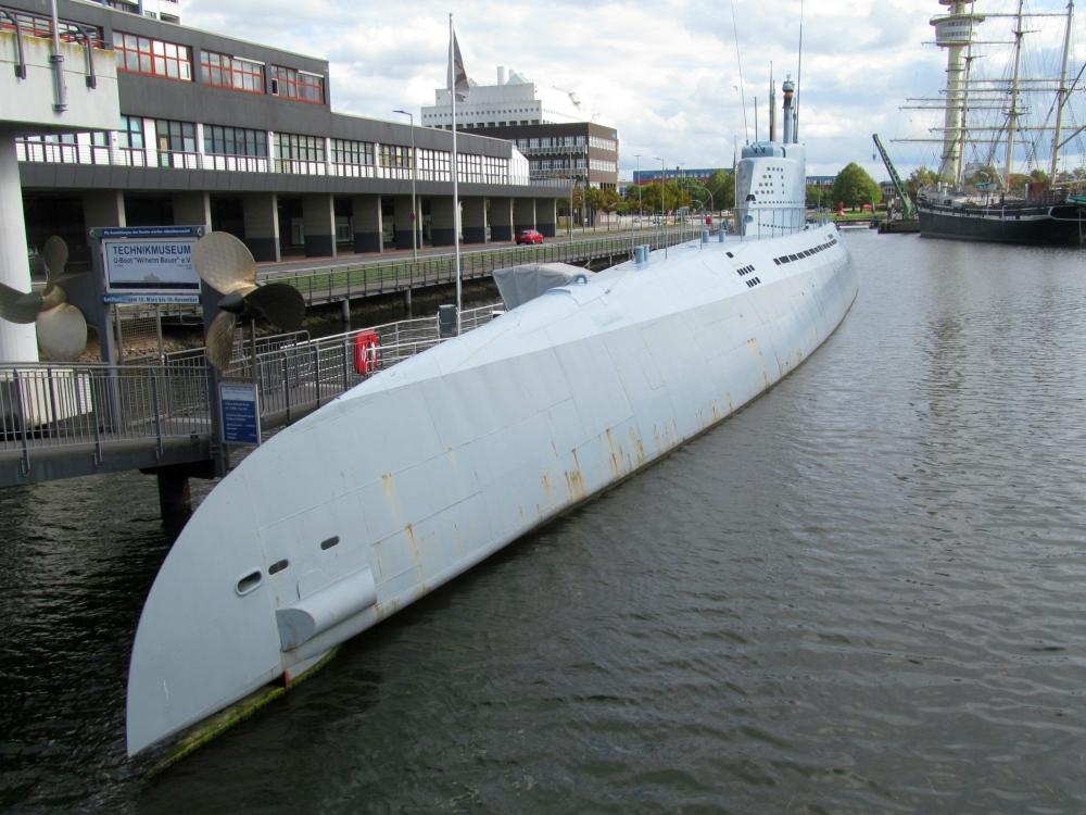 """2018: U-Boot  """"Wilhelm Bauer"""" im Technikmuseum (Foto: Peter Reichelt)"""