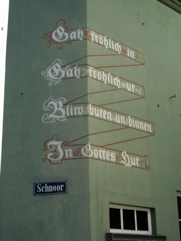 2018: Bremen, Schnoor (Foto: Peter Reichelt)