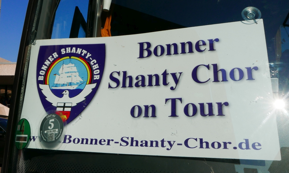 2018: BONNER SHANTY-CHOR on Tour (Foto: Manfred Weiler)