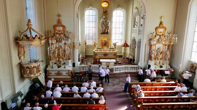 2018: Der Kirchenraum (Foto: Manfred Weiler)