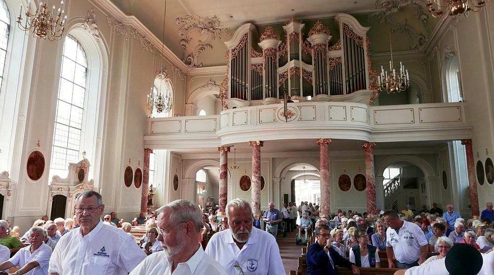 2018: Blick zur Orgel (Foto: Manfred Weiler)